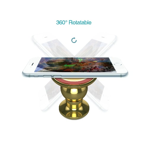 dodocool 360° Universal Magnetic Cell Phone Tablet GPS Holder Car Cradle Stand Adhesive Base