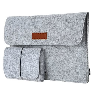 dodocool 13.3-Inch Felt Sleeve Cover Carrying Case Protective Bag