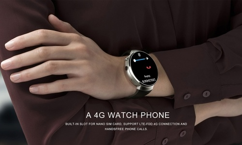 LEMFO LEM7 4G-LTE Smart Watch Phone with 1G+16G