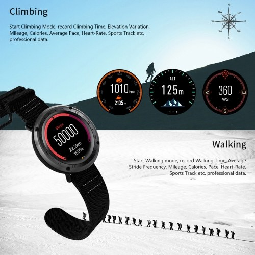 LEMFO LF22 GPS Smart Watch with 2018 World Cup Theme