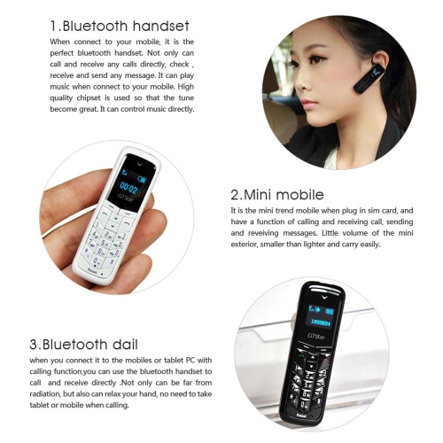 GTSTAR BM50 Mini BT Earphone GSM Phone