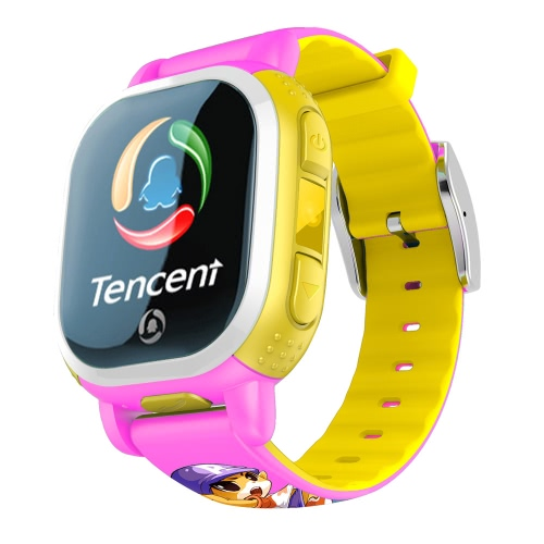 American Version Tencent PQ708 QQWatch 2G GSM IP65 Water-reisitant Kids Smart Watch Phone Mini GPS LBS locator Tracker 1.22 Inches 2.5D Colorful Touch Screen MTK6260D for iPhone 6 6S 6 Plus 6S Plus Samsung S6 S6 edge S7 S7 edge HTC LG Smartphone SOS Emergency WiFi Pedometer Smart Mobile App Fashion Durable for Android 4.0 iOS 7.0 or above