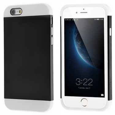 Link Dream Contrast Color Lightweight Fashion Bumper Shell Case Protective Back Cover for iPhone 6 6S 4.7″