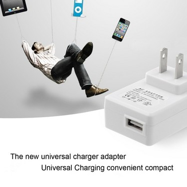 5V 2A Universal Charger Adapter US Plug  USB Wall Charger Fast Charging for iPhone 6S 6 Plus iPad Mini SAMSUNG S6 Edge HTC