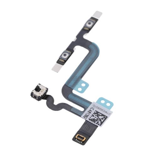 Volume Button Repair Fix Replace Replacement Parts with Mute Silent Vibrator Flex Cable for iPhone 6S Plus