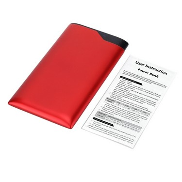 Portable 6000mAh Large Capacity Safe Power Bank Dual USB for iPhone 6 6 Plus Samsung HTC Smartphones