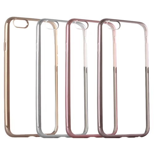 TPU Phone Case Protective Cover Shell for iPhone 6 6S Eco-friendly Material Stylish Portable Ultrathin Anti-scratch Anti-dust Durable