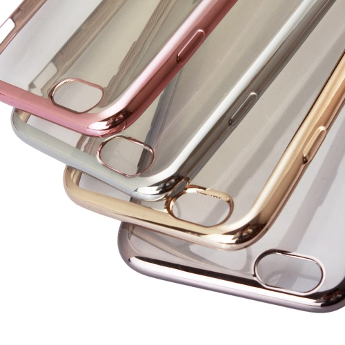 TPU Phone Case Protective Cover Shell for iPhone 6 Plus 6S Plus Eco-friendly Material Stylish Portable Ultrathin Anti-scratch Anti-dust Durable