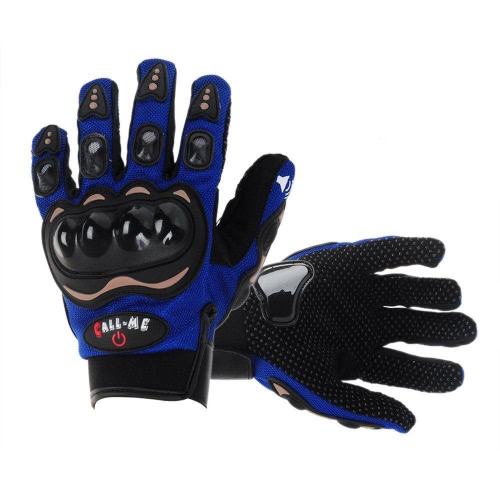 Fashion Call Me Wireless Motorcycle Cycling Bike Full Finger Gloves BT 3.0 Headset Earphone Headphone with Microphone   Answering/Hang Up Calls