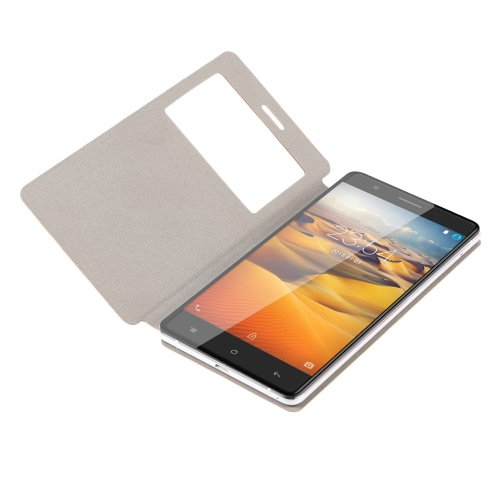 CUBOT S550 Phone Leather Case Protective Cover Shell Eco-friendly Material Stylish Portable Ultrathin Anti-scratch Anti-dust Durable