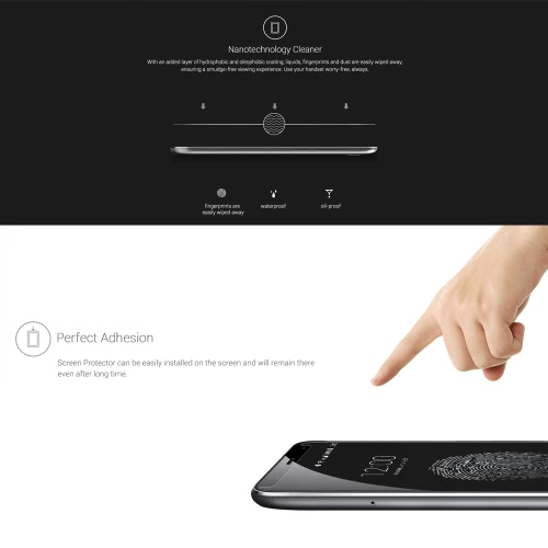 UMI TOUCH Tempered Glass Screen Protector Film 9H Ultrathin High Transparency Anti-dirt Shatterproof Anti-  scratch