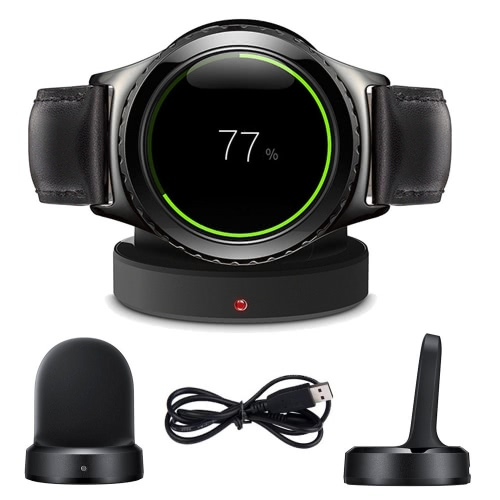 High Quality Qi Wireless Charging Dock Cradle Portable Charger for Samsung Gear S2 Classic SM-720 730 732