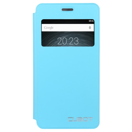 Original Original Elegant Flip Cover Shell PU Leather Protective Case Book Flip with Stand Cellphone Cover for Cubot Z100