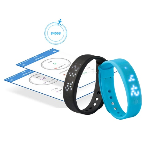 A6 Smart Band Smartband for Android Smartphone with OTG Function Computer 3D Pedometer Calorie Monitor Smart Sleep Monitor Silent Alarm Movement Data Memory Time/Date