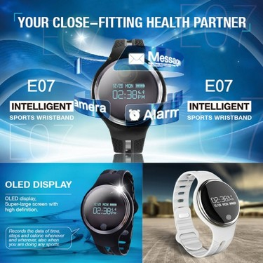 E07 Smart Watch 0.96″ OLED Screen