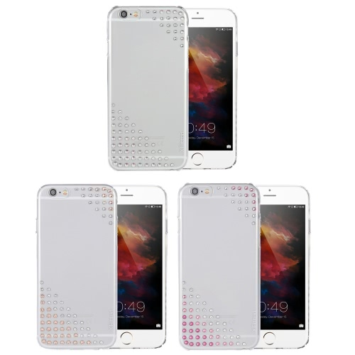 X-fitted  Electroplating Phone Case Protective Cover Shell for 4.7 Inches iPhone 6 6S Eco-friendly Material Stylish Portable Ultrathin Anti-scratch Anti-dust Durable