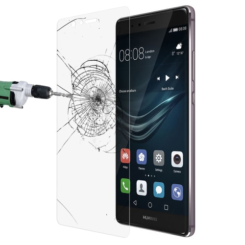 Link Dream Premium Glass Film Real Tempered Glass Screen Protector High Quality Anti-knock 9H Hardness 2.5D Craft for Huawei P9 Plus