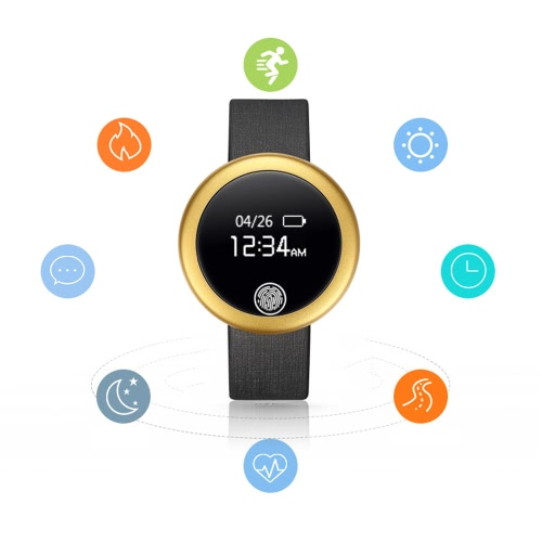 S6 Smart BT Watch 0.66inch Screen BT 4.0 for iPhone 6 6 Plus 6S 6S Plus IOS 7.0 Android 4.0 BT 3.0 Above Smartphone Sleep Monitor Heart   Rate Monitor Pedometer Anti-lost Reminder