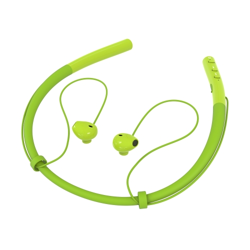 BT V4.2 Headset Wireless Neckband Headphones Earbuds Magnetic Design Stereo Sport Running Earphone with Noise Cancelling Mic for iPhone Android and Other BT-Enabled Devices