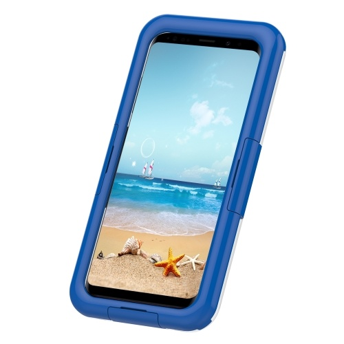 Waterproof Case Full Body Protective Cover Case Shockproof Snowproof Dirtproof Dustproof for Samsung Galaxy S9/S9 Plus
