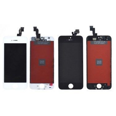 Screen Replacement for iPhone 5S 4 Inches LCD Capacitive Screen Multi-touch Digitizer Replacement Assembly Front Glass