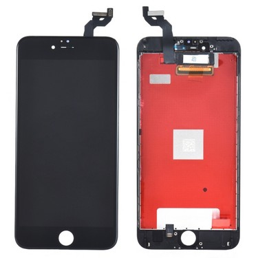 5.5 Inches Phone Parts for iPhone 6S Plus Outer LCD Capacitive Screen Multi-touch Digitizer Replacement Assembly Front Glass Replacement IC