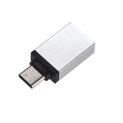 Aluminum Alloy USB 3.0 Female to Android Type-C USB-C Male Sync Data Converter Charging Adapter for Xiaomi Huawei Data Cable