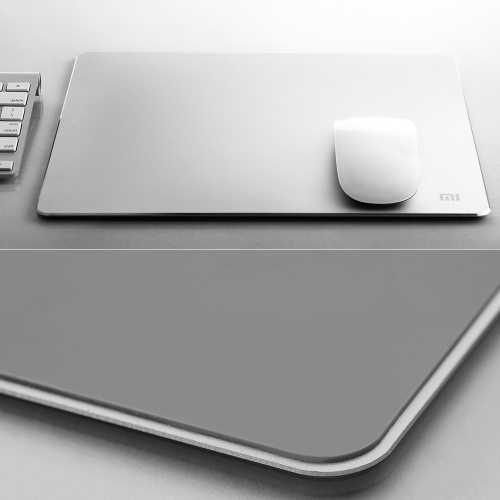 Xiaomi Metal Mouse Pad High Quality Durable Aluminum Alloy Mouse Mat Luxury Slim Aluminum Computer Pads Frosted Matte Laptop Gaming Mousepad for Dota Gamer for Apple MackBook