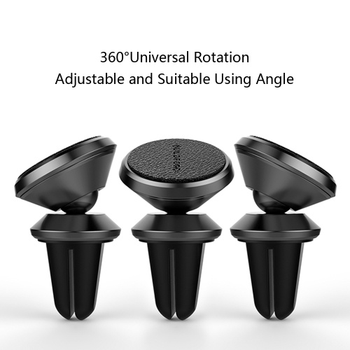 Xiaomi Car Magnetic Phone Holder Universal 360° Rotating Mount Stand Air Vent Holder for iPhone X 8 7 Samsung S8 Air Vent GPS
