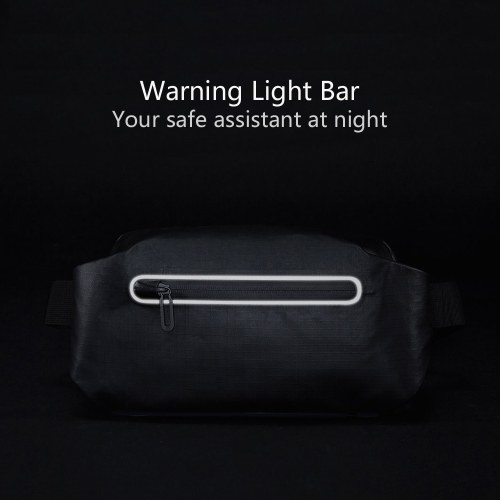 Xiaomi 90fun Waist Bag Fashion Function Warning Light Bar Water-resistant Messenger Shoulder Casual Chest Bag Money Phone Belt Pocket Backpacks For Work Sport Travel