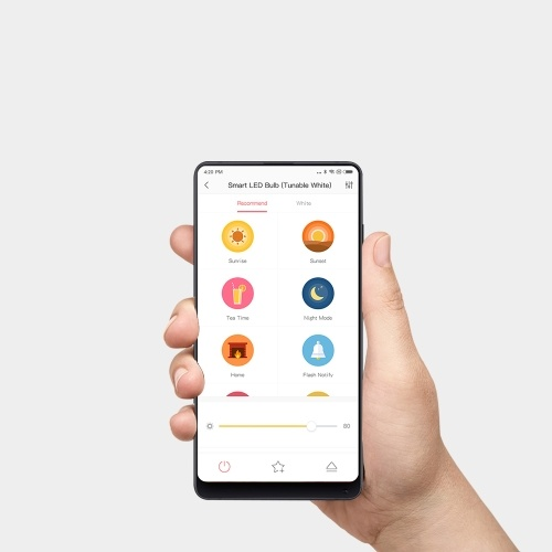 Xiaomi Yeelight Smart LED Bulb Colorful 800 lumens 10W E27 Lemon Smart Bulb Lamp For Mi Home App (Update Version) 220V-240V 50/60Hz