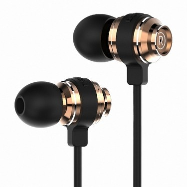 BAYASOLO V19 In-ear Earphone Earpiece Portable Sports Stereo Headphone Running Headset Hands-free 3.5mm with Mic for iPhone Samsung S8+ Note 8