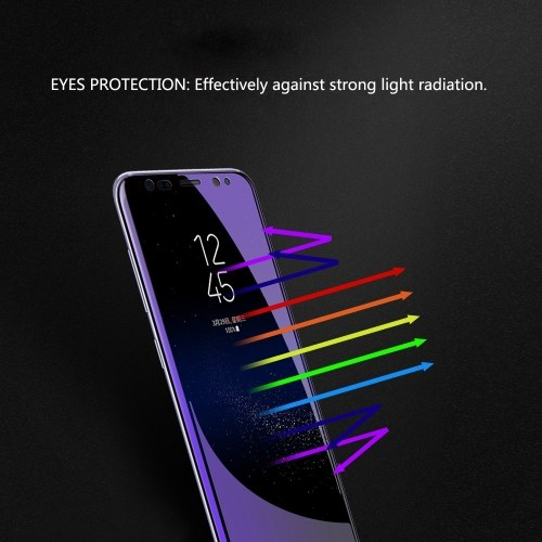 Full Coverage Protective Film Soft Phone Screen Protector for Samsung Galaxy S9 Plus S9+ 6.2-inch Anti-scratch