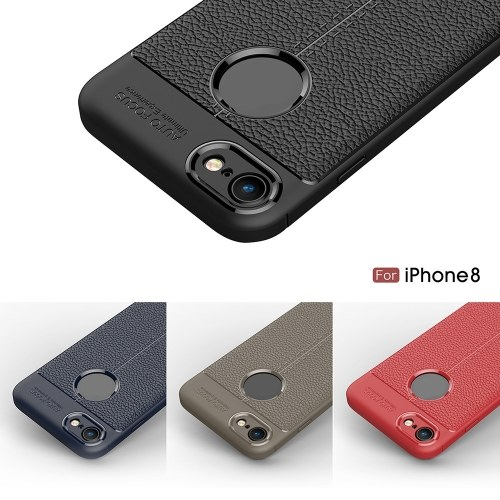 Phone Protective Case for iPhone 8 Cover 4.7inch Eco-friendly Stylish Portable Anti-scratch Anti-dust Durable