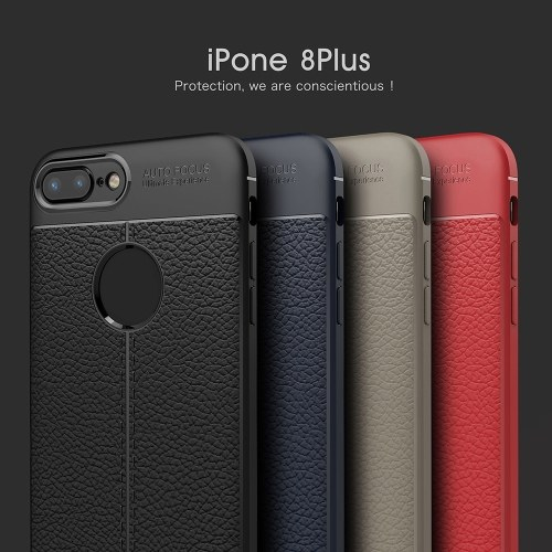 Phone Protective Case for iPhone 8 Plus Cover 5.5inch Eco-friendly Stylish Portable Anti-scratch Anti-dust Durable