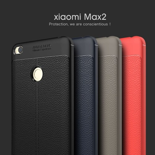 Phone Protective Case for Xiaomi Max 2 Cover 6.44inch Eco-friendly Stylish Portable Anti-scratch Anti-dust Durable