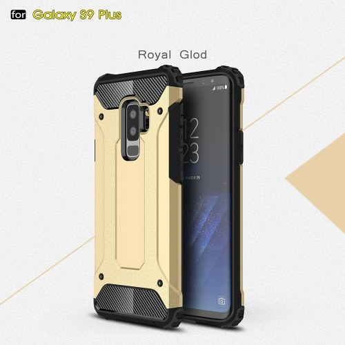 For Samsung Galaxy S9 Plus Case Slim Fit Dual Layer Hard Back Cover Bumper Protective Shock-Absorption & Skid-proof Anti-Scratch Case 6.2 inch