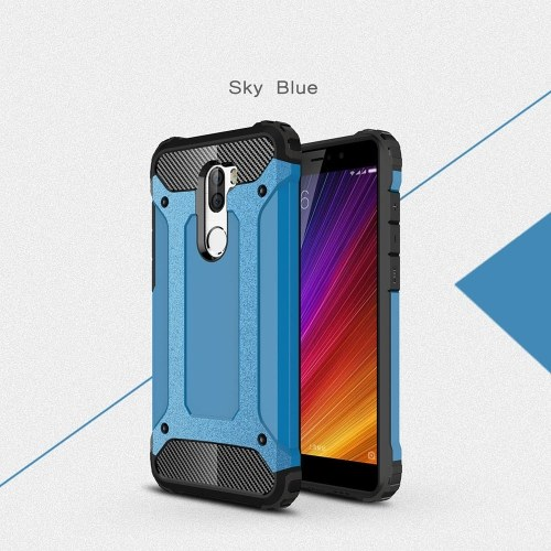 For Xiaomi 5S Plus Case Slim Fit Dual Layer Hard Back Cover Bumper Protective Shock-Absorption & Skid-proof Anti-Scratch Case 5.7 inch