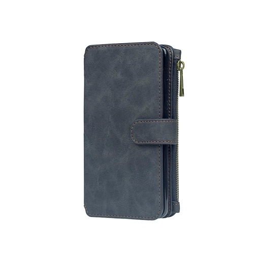 For LG G5 G6 Multifunction Zipper Wallet Magnet Protective Phone Card Case Detachable Flip PU Leather Cover Stylish Anti-scratch