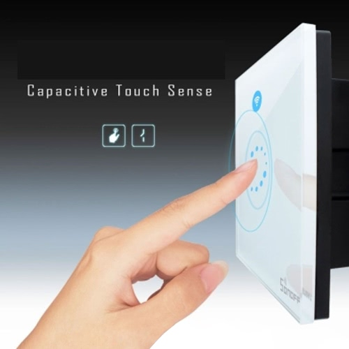 Sonoff  Wall Touch Switch DIY Smart Home Wireless Timing WiFi APP Remote Control