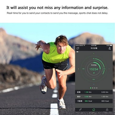 C3 Heart Rate Smart BT Sport Watch Wristband Bracelet 0.69″ OLED Call Notification Pedometer Alarm Anti-lost Sleep Monitor Sport Modes for iPhone 6 6S 6 Plus 6S Plus 7 Plus Samsung S6 S7 edge Android 4.4 iOS 7.0 or above