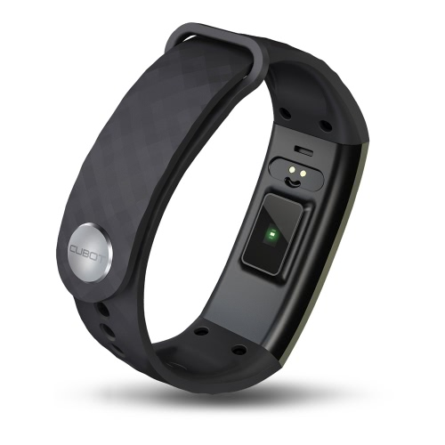 CUBOT S1 Smart Band 0.96inch OLED Screen 128*64pixel IP65 BT 4.0 Smart Wristband Heart Rate Sleep Monitor Air Pressure/Temperature Monitor Remote Control Camera GPS Motion Trail for iPhone 6 6S 6 Plus 6S Plus 7 Plus Samsung S6 S7 edge Android iOS Smartphone