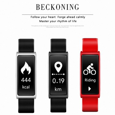 C9 Smart Band 0.96-Inch Display Sports Tracker Heart Rate Sleep Monitor Caller ID Message Reminder Anti-lost Smart Bracelet
