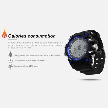 Microwear XR-05 Waterproof Fitness Tracker Smart Band Watch Pedometer / Calorie Burning / Sleep Monitor / Altitude / Air-pressure / Temperature BT Sport Wristband Calls Notification Activity Tracking for iPhone Samsung
