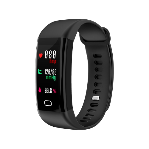 F07 IP68 Waterproof Color Screen Fitness Band Smart Bracelets Heart-rate BT Sport Wristband Calls Notification Activity Tracking Sleep Monitor for iPhone 8 Plus Samsung S8+ iOS8 Android4.4