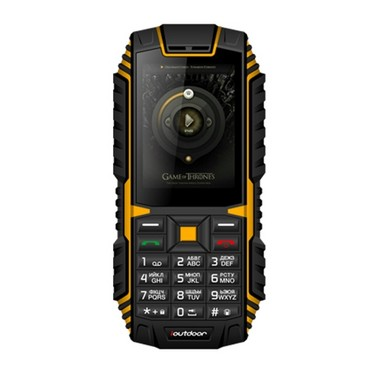 Ioutdoor T1 Tri-proof Feature Mobile Phone 2G GSM 2.4inch MTK6261A CPU 128MB+32MB Storage 2MP Rear Camera 2100mAh Battery IP68 Waterproof Dual SIM MP3 Cellphone
