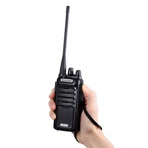 Original BAOFENG JP-3 Mobile 2-way Radio Walkie Talkie UHF CTCSS/DCS Handheld Transceiver Interphone FM Radio with Stand