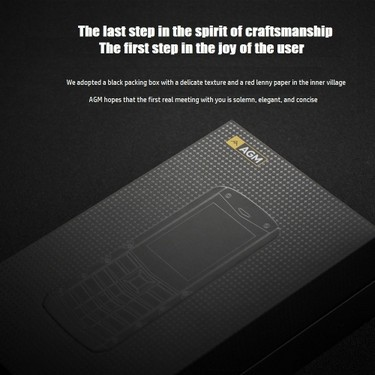 AGM M2 IP68 2G GSM Feature Unlocked Phone Waterproof Shockproof Dustproof Rugged Phone 2.4 -Inch 240*320 Pixels Display SC6531DA 32MB+32MB 0.3MP Rear Camera 1970mAh Battery