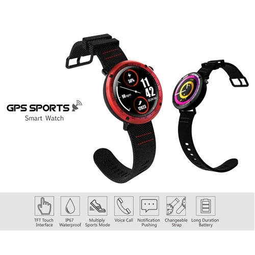 Sport Smart Watch IP67 Water Resistant