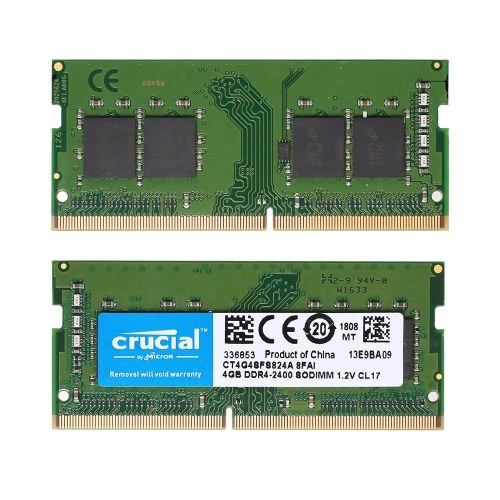 Crucial 4GB Single DDR4 2400MT/s PC4-19200 CL...